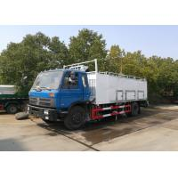 Quality 4x2 Refrigerated Delivery Truck Sandwich 3 LayerBox Type 10 Tons / 12 Tons for sale