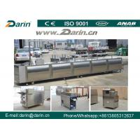 Quality Stainless Steel Cereal Bar Making Machine , Snack Cutting Machines For  Sesame Bar for sale