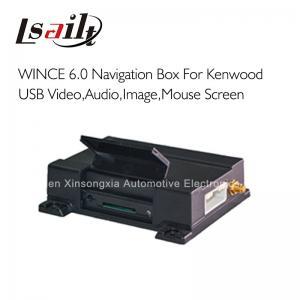 Quality Kenwood Comand Added GPS Navigation Box 800*480, DDX-5036 / 4038 / 4028 / 7025 BT , USB Phone MirrorLink for sale