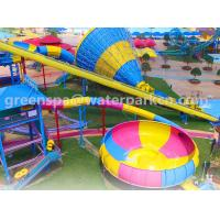 Quality Family Members Big Amusement Water Park Equipments Durable Customised Color for sale