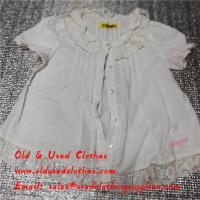 Quality Fashionable And High Quality Used kids and childrens Clothing Export For Summer for sale
