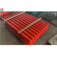 Quality HRC50 Mn18Cr2 Fixed Stationary Swing Stone Jaw Crusher Plate for sale