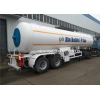 Quality 40000 Liters Lpg Gas Tanker Truck Haulage 20 Tons Propane Gas Tanker Truck Trailer for sale