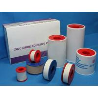 China Surgical cotton zinc oxide plaster Cloth tape on sale