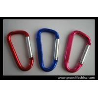 Wholesale aluminum clorful carabiners for diving high quality custom red blue carabiners