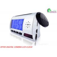 Quality Voice Recording Wifi Camera Clock With Remote Controller / 1280 * 960 Resolution for sale