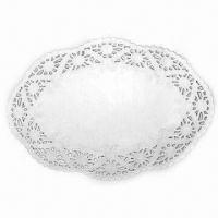 China Doilies, Made of 100% Food Grade Greaseproof Paper, Customized Sizes are Welcome on sale