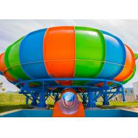 Quality Behemoth Space Bowl Water Slide Water Park Equipment 11m Platform Height for sale