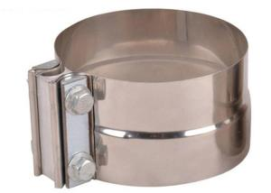 Quality Aluminized Steel Butt Joint 3 Exhaust Pipe Clamp for sale