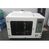Quality Numerical Controlled Ul 94 Horizontal Flammability Tester With Automatic Ignition for sale