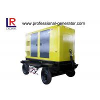 Quality Automatic Trailer Type Mobile Power Generator Station Electric Governer 30kw Diesel IP23 for sale