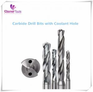Quality Good Performance 3D/5D/8D/12D Carbide drills with coolant hole for sale