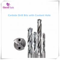 Buy cheap Good Performance 3D/5D/8D/12D Carbide drills with coolant hole from wholesalers