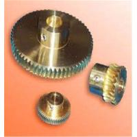 Quality Hand Screw Worm Aluminum DC Motor Worm Gear CNC Machining Part for sale