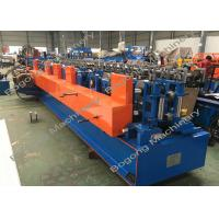 China Customized Z / U Purlin Roll Forming Machine High Strength Heavy Duty on sale