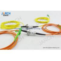 Buy cheap Single mode 1310 / 1550 nm Fiber Optic Rotary Joint / FORJ for HD-SDI from wholesalers