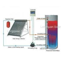 Buy cheap Split Pressurized Solar Water Heater with Copper Coil product