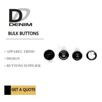 Quality Dark Black Ancient Silver Clothing Snap Buttons Metal Snap Fastener 4 Parts With Logo for sale