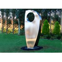 Quality Contemporary Metal Yard Art Stainless Steel Sculpture For Garden Decoration for sale