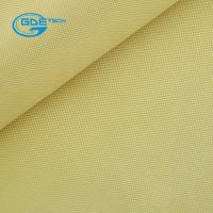 China Aramid Cloth Fabric Satin Weave 250g 1m Wide on sale
