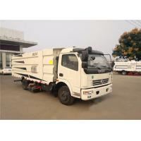 Quality Dongfeng Vacuum Road Sweeper Truck 1.5CBM Water Tank 6CBM Dust Tank for sale