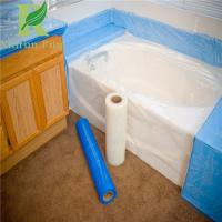 Quality 8 Mil Low Density Adhesive Clear Acrylic Bathtubs Protective Film for sale