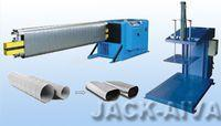 Flat-Oval duct forming machine