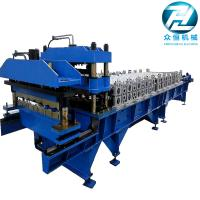 China Roof Panel Glazed Tile Roll Forming Machine / Former Machine with 5.5kw motor on sale