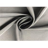Quality 100% Coated Polyester Fabric 2/1 Twill Twisted Coating Memory Fabric For Wind Coat for sale