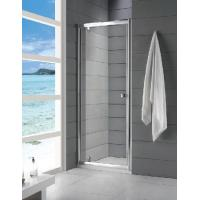 China 6mm Tempered Glass Fully Enclosed Shower Cubicle Frameless Sliding 800 × 1850mm on sale