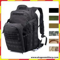 OEM black Military Tactical Backpack Large Army 3 Day Assault Pack Waterproof Molle Bug Out Bag Backpacks Rucksacks