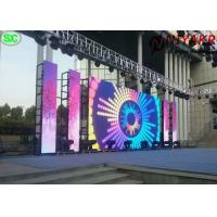 China full color vivid image outdoor p3.91 rental  stage led screen for concert on sale