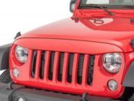Quality ABS Plastic Jeep Wrangler Eagle Eye Grill Custom Size Maintenance Free for sale