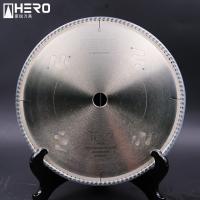 Quality Metal Cutting PCD Saw Blade / Aluminum Alloy Diamond Circular Saw Blade for sale