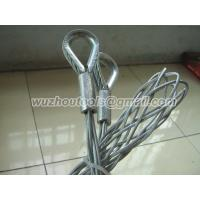 Quality Flexible Eye cable stocking ,Stainless Steel cable pull grip for sale