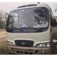 Quality made in korea Hyundai county bus diesel bus left hand drive second hand buses for sale