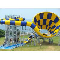 Quality Medium Tornado Water Slide / Commercial Extreme Water Slides For Gigantic Aquatic Park for sale