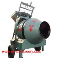 Quality JZC350 Small Chinese Portable Mobile Type Concrete Mixer With Pump for sale