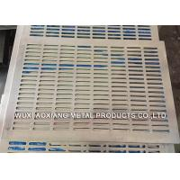 Buy cheap Decorative PVC Coated Perforated Metal Sheet For Petroleum / Foodstuff from wholesalers