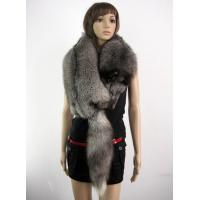 Buy cheap A Whole Silver Fox Scarf Fur Shawl product