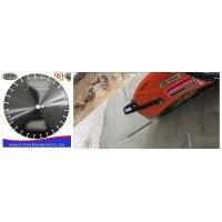 Quality Customized Fast Speed 400mm Diamond Blade , Dry Cut Saw Blade High Efficiency for sale