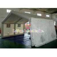 Quality Plato PVC Inflatable Clear Bubble Tent For Shelter ,  Commercial Clear Dome Tent for sale