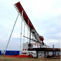Quality Top Drive Oil Rig with Drilling angle 12-90, mounting is carried out at the working area for sale