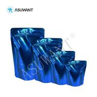Buy Clear Window Stand Up Pouch Packaging Plastic Zip Lock Bag Practical Simple Design at wholesale prices