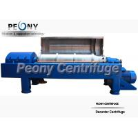Continuous Scroll Centrifuge Decanter Centrifuge Manure Sludge for sale