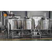 China Commercial Micro Beer Brewing Equipment , 10 BBL Beer Brewery Equipment on sale