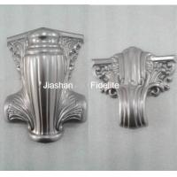 PP Recycled Or ABS funeral decoration 27# Coffin Hardware , Europen Style