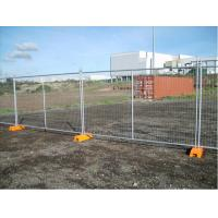 Buy cheap Hot Dipped Galvanized Temporary Chain Link Fence Panels Low Carbon Steel from wholesalers