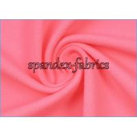 China Weft Knitting Plain Dyed Moisture Wicking Supplex Lycra Fabric for Yoga Clothes on sale
