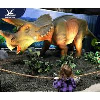 Quality Water Resistant 4 Meters Large Realistic Dinosaur Models For Museum / Square for sale
